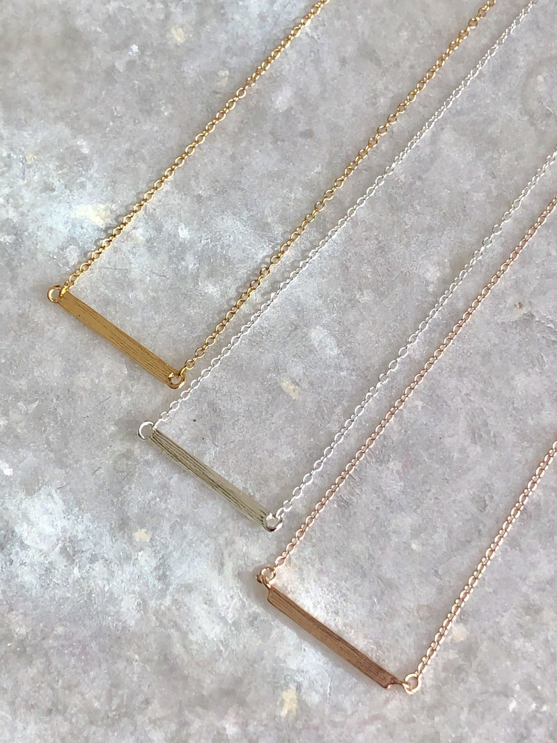 Latitude Bar Necklace