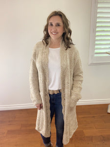Scallop Knit Cardigan