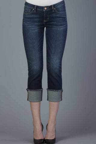 Cuffed Denim Jeans - Playback