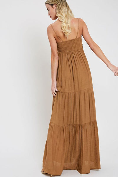 Bow tie Maxi Dress