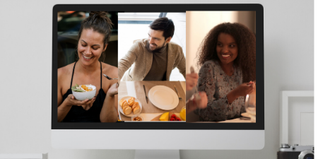 5 Tips For Hosting Your Lockdown Virtual Dinner Party