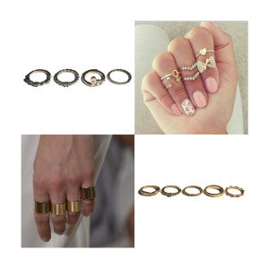 4. stacking rings