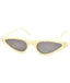 Cream Stylish Retro Sunglasses