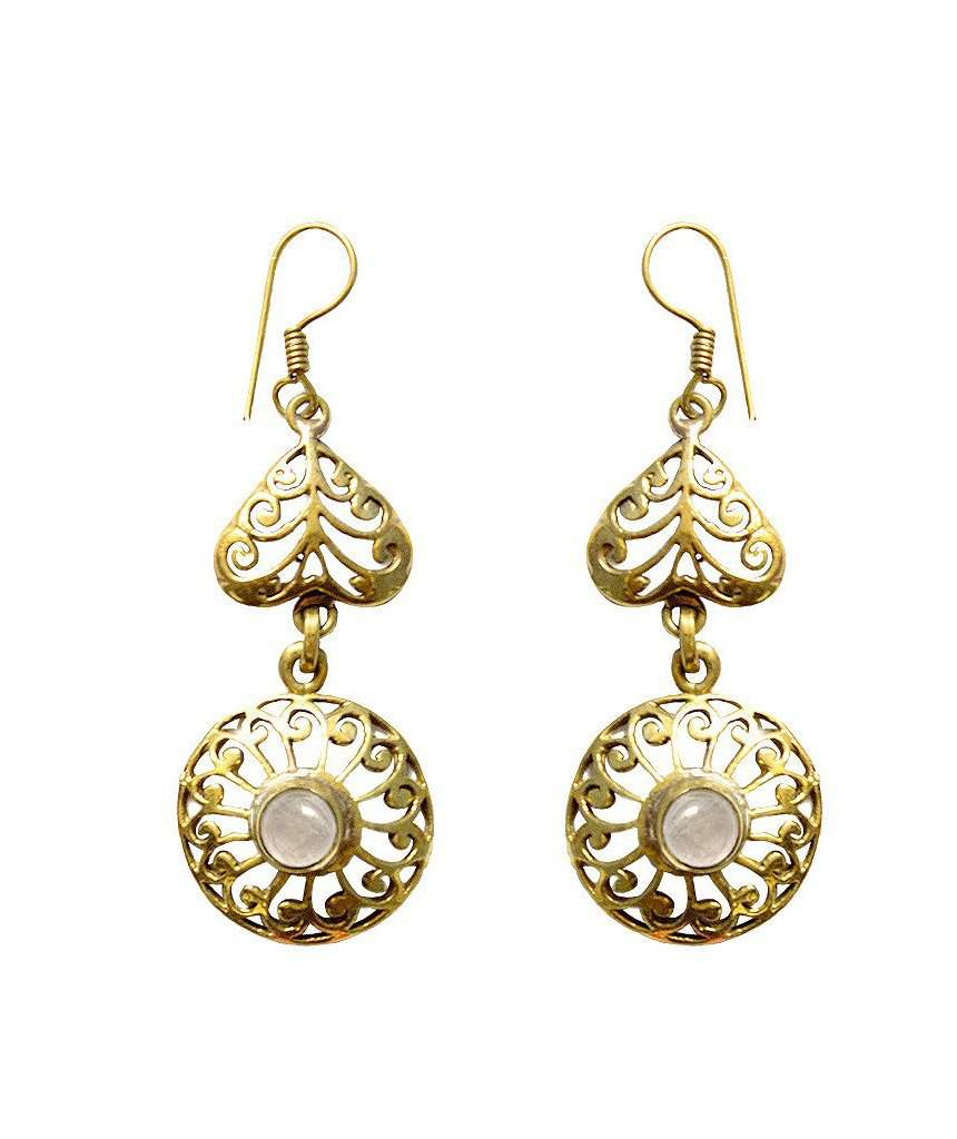 Circular Double Drop Earring