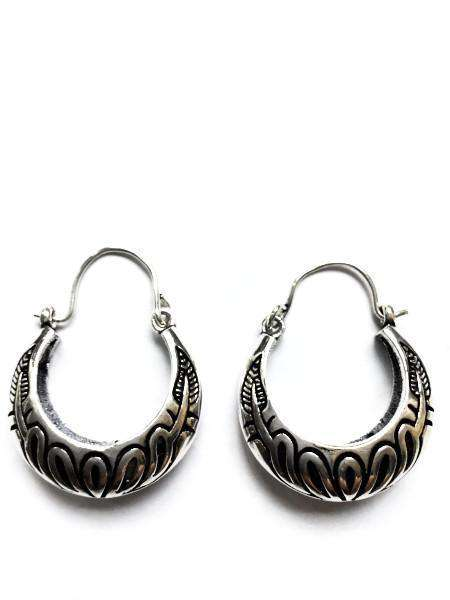 Patterned Hoops