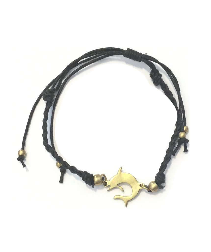 Black Unisex Adjustable Bracelet