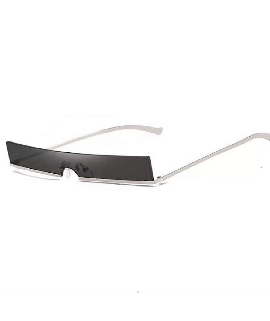 Visor Style Rectangular Sunglasses