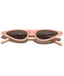 Pink Stylish Retro Sunglasses