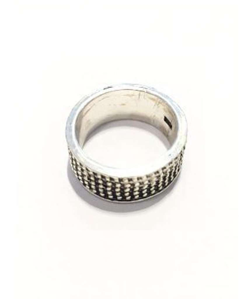 Premium Silver Dots Ring