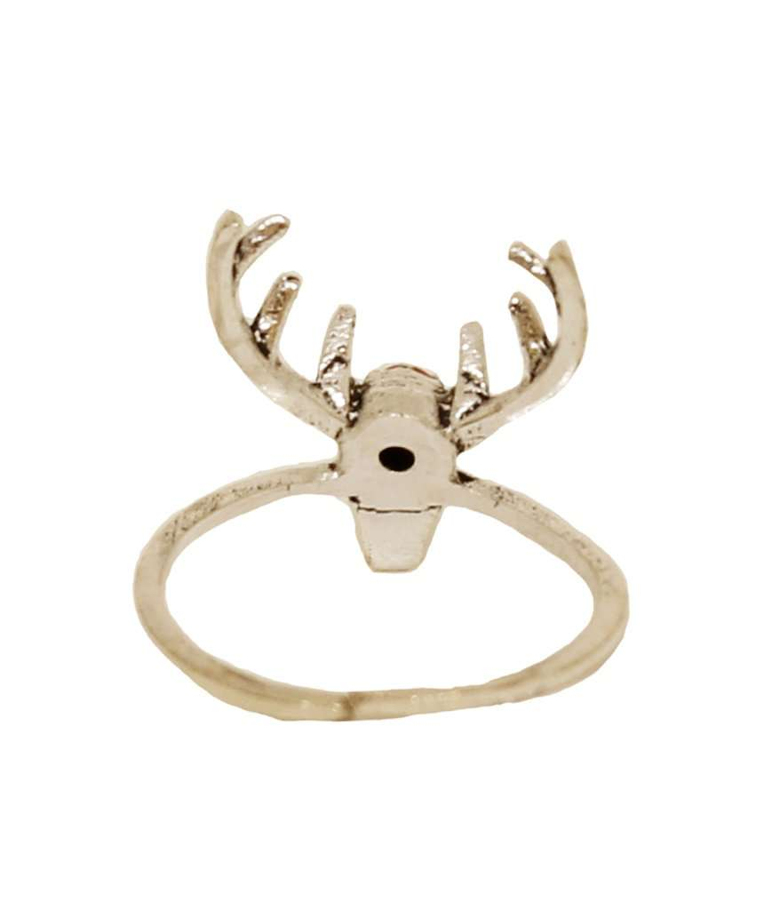 Deer Ring with Stone