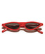 Red Stylish Retro Sunglasses
