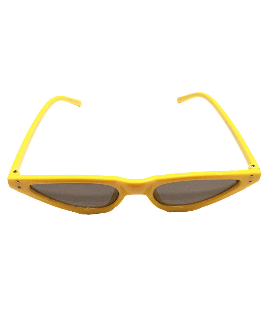 Yellow Stylish Retro Sunglasses