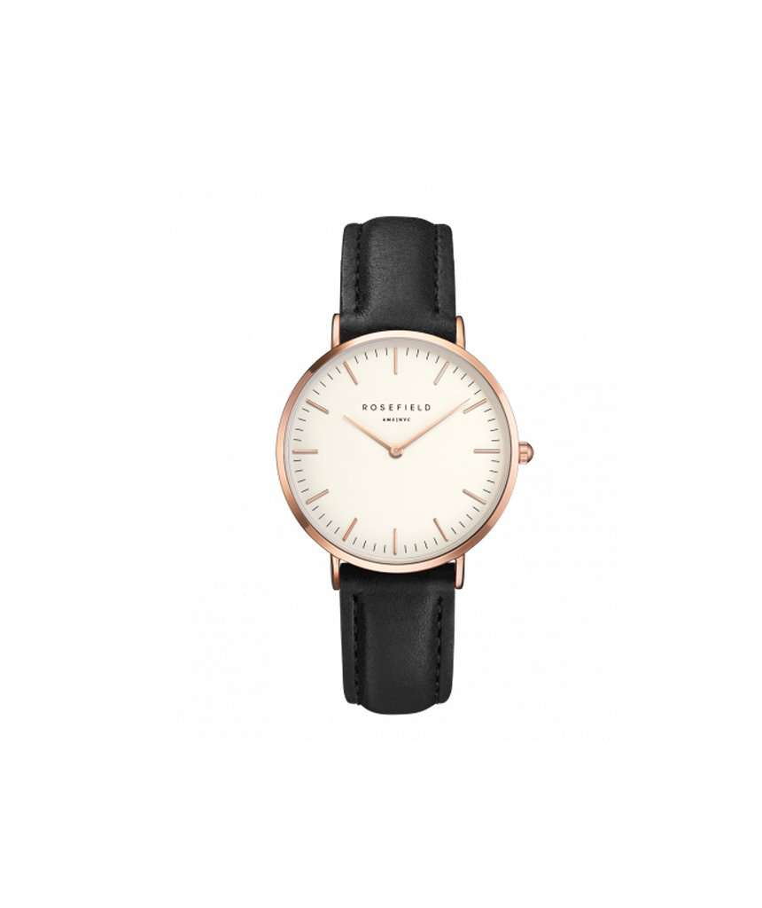 The Tribeca White Black Rosegold Watch