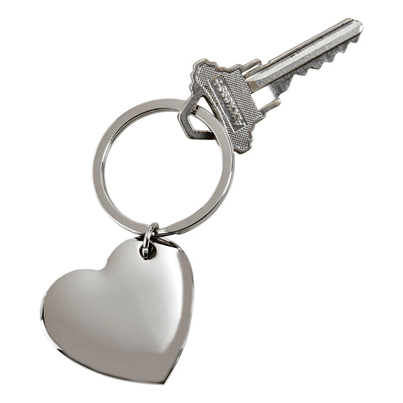 CUPID HEART SHAPED KEY RING
