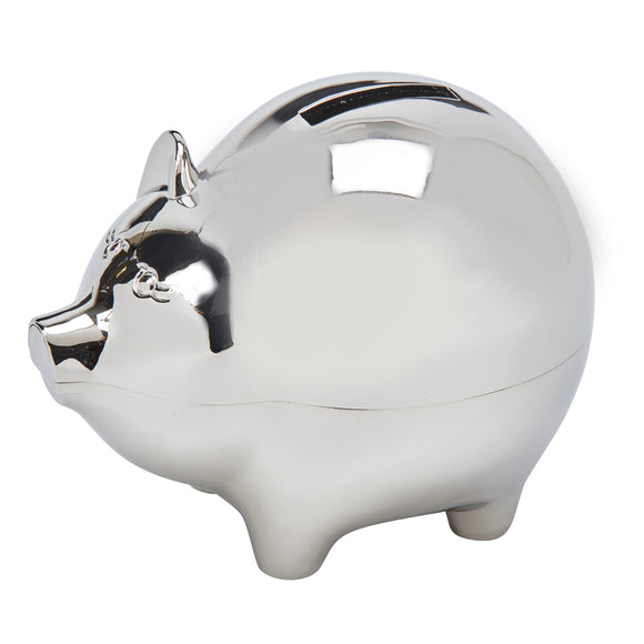 LARGE PIGGY BANK WITH POLISHED