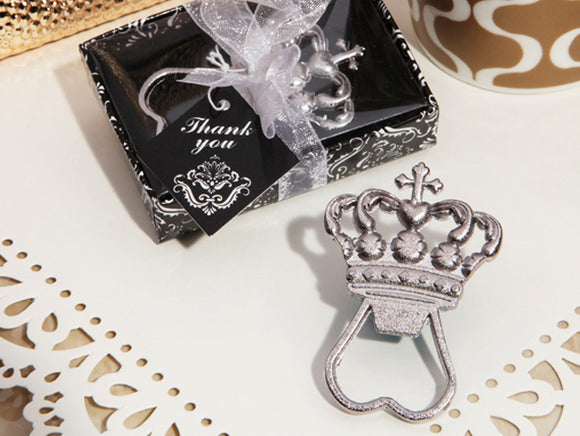 Royal Crown Bottle Opener Wedding Baby Bridal Shower Favors Party Favo