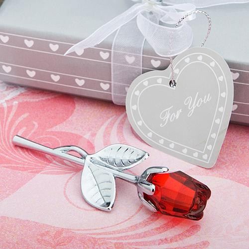 <em>Choice Crystal  Collection</em> Red Rose Favors