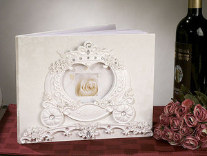Fairytale Theme WEDDING GUESTBOOK GUEST BOOK REGISTRY Bridal Shower Gift