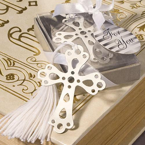<i>Book Lovers Collection</i> Cross Bookmark Favors
