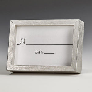 Silver wood 2x3 picture frame