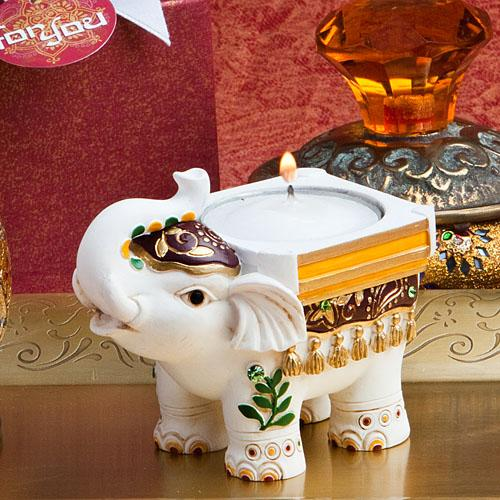 Good Luck Elephant Candle Holders
