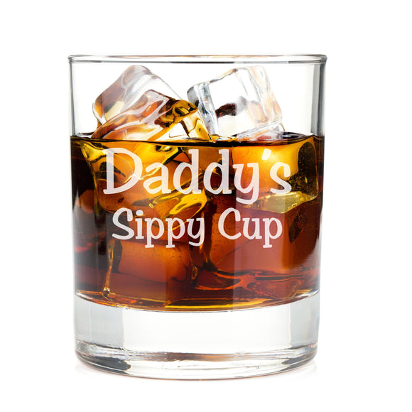 Daddy's Sippy Cup Whiskey Glasses