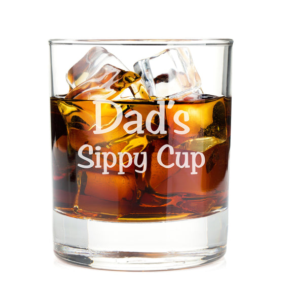 Dad's Sippy Cup Whiskey Glasses