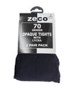 Zeco Opaque Tights Black