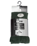 Zeco Cotton Tights Green