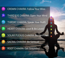 Load image into Gallery viewer, Chakra Aromatherapy Bracelet Set