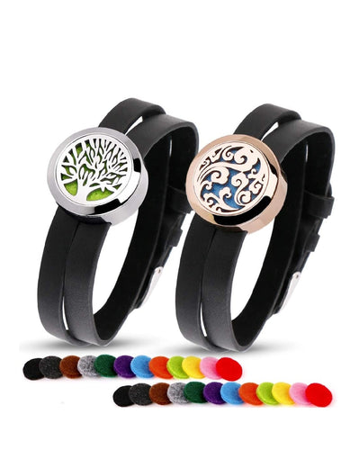 Tree of Life Aromatherapy Essential Oil Diffuser Bracelets