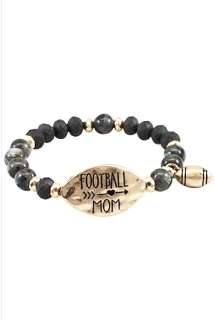 Foot Ball Mom Bracelet