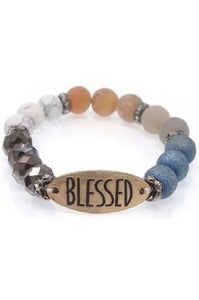 Blessed Mixed Bead Bracelet