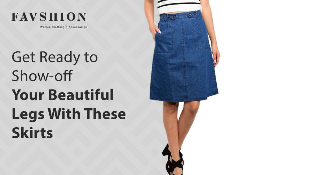 Get Ready to Show-off Your Beautiful Legs With These Skirts