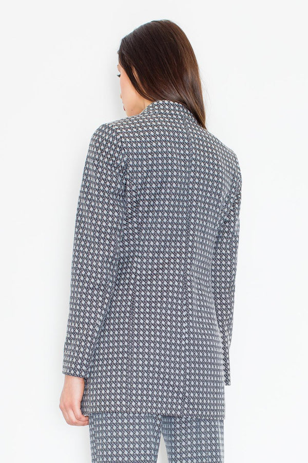 Grey Figl Jackets & Coats - Favshion