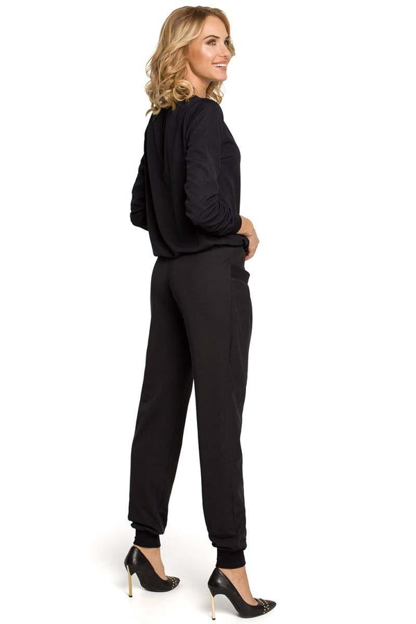 Black MOE Pants&Leggings - Favshion