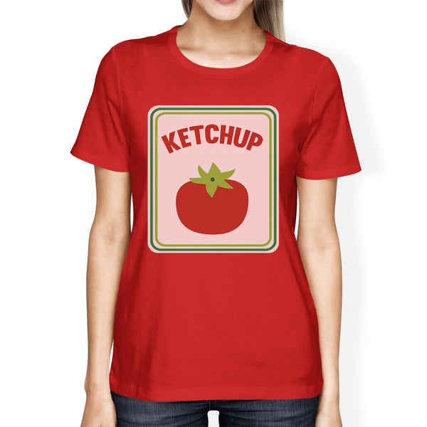 Ketchup Womens Red Shirt - Favshion