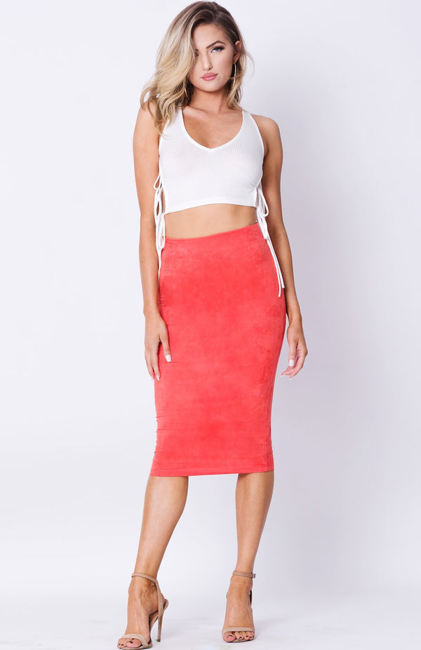 High Waist Pencil Skirt - Favshion