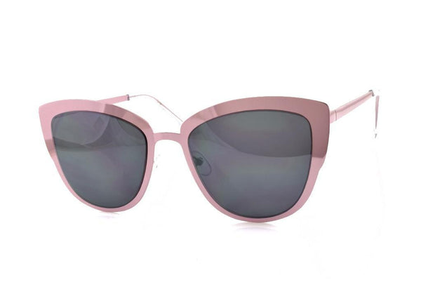 Pink Metal Mirror Sunglasses - Favshion