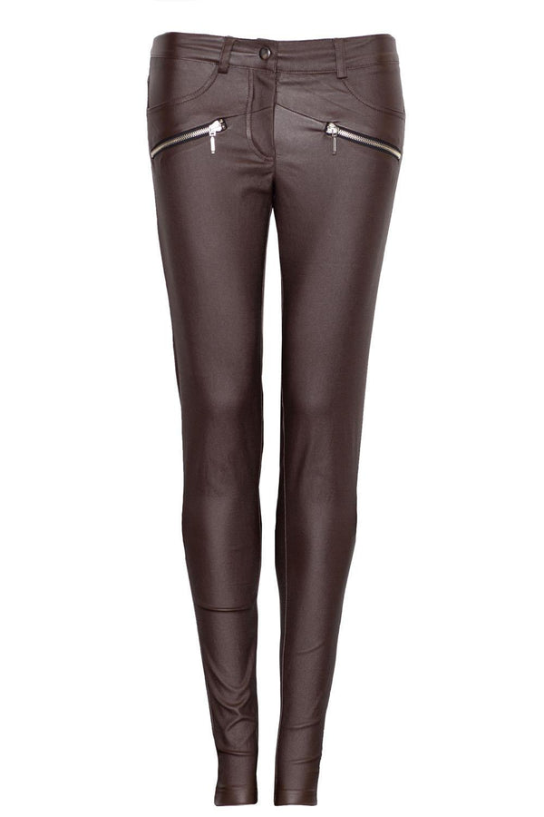 Brown Figl Pants&Leggings - Favshion