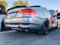 E9X TYPE 3 - REAR BUMPER EXTENSIONS