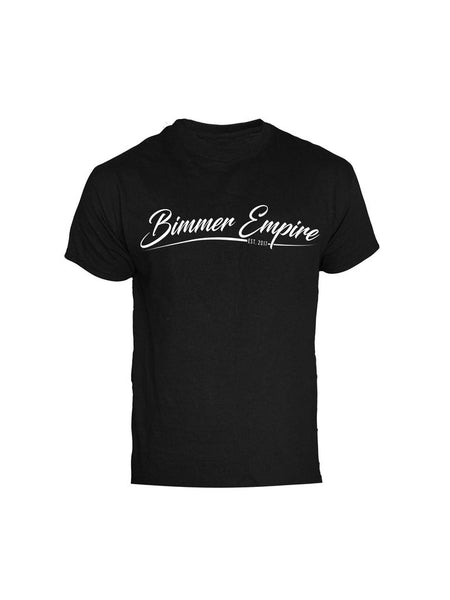 Bimmer Empire Black Cursive Shirt