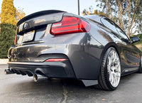 F2X TYPE 2 - REAR BUMPER EXTENSIONS