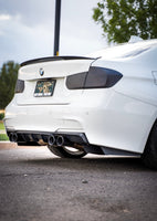 F3X TYPE 3 - REAR BUMPER EXTENSIONS