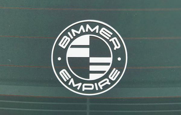 Bimmer Empire Logo Decal 3""