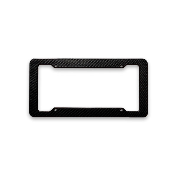 Carbon Fiber style License Plate Frame