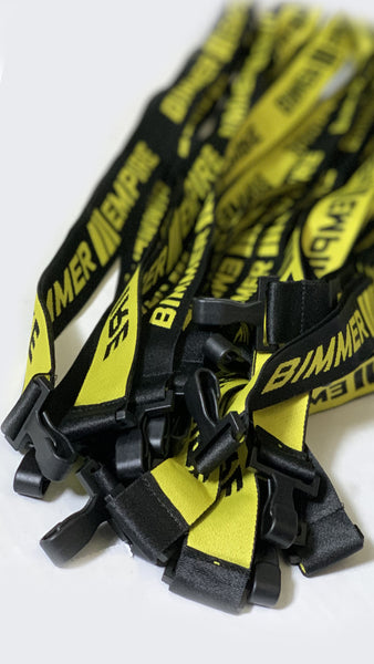 Yellow/Black Lanyard