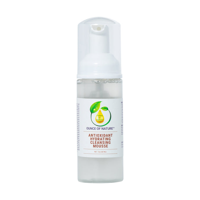 Antioxidant Hydrating Cleansing Mousse
