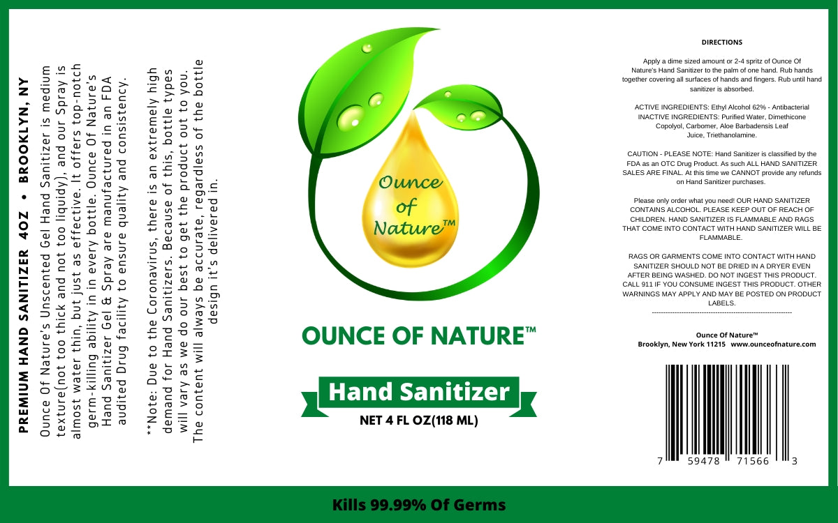 Premium Hand Sanitizer(SPRAY)
