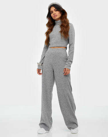 COZY RIB TURTLENECK SET